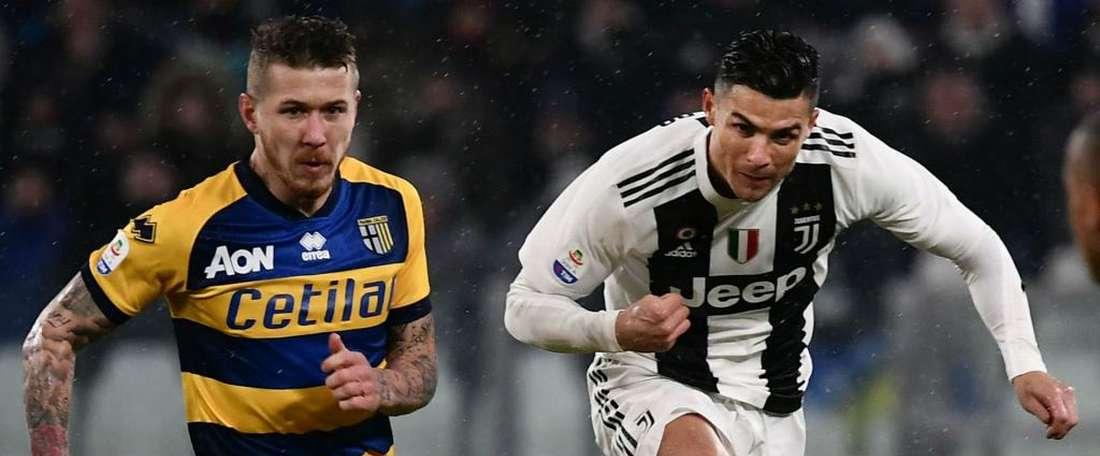 Cristiano a marqué un doublé. Goal
