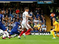 Kurt Zouma's own goal meant Chelsea dropped two points v Sheff Utd. GOAL