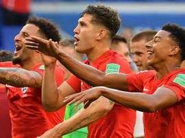 Kyle Walker John Stones Jesse Lingard England World Cup. AFP