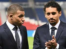 Marquinhos was surprised by Mbappe's comments. GOAL