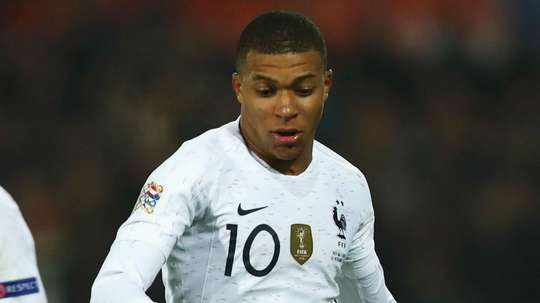 Mbappe made his 30th appearance for France against Iceland. GOAL