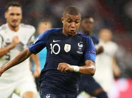 Kylian Mbappe France Germany. Goal