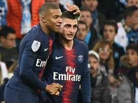 Les Parisiens ont souffert au Vélodrome. Goal