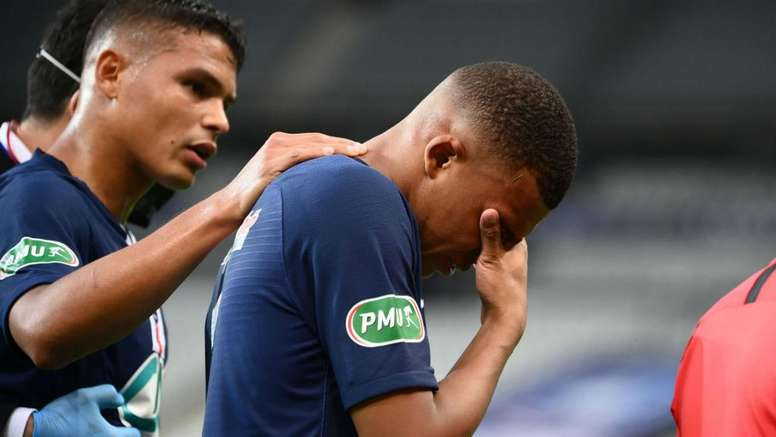 Mbappé em PSG x Atalanta? Só um milagre, diz Tuchel. AFP
