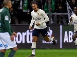 Mbappé a libéré le PSG. Goal