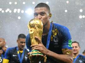 Mbappé has already won lots of trophies in spite of his tender age. GOAL