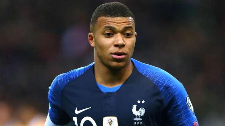 Mbappe named in France squad