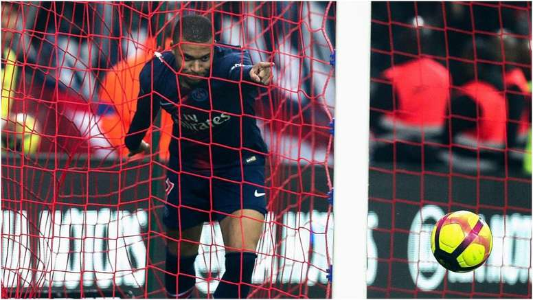 Mbappe's goal meant PSG scored in every Ligue 1 game this season. GOAL