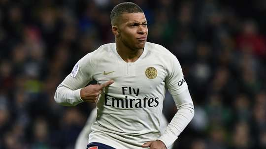 Mbappe makes Ligue 1 history with wonderful volley. Goal