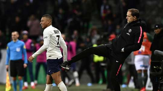 Tuchel knows not to over-extend Mbappe. GOAL