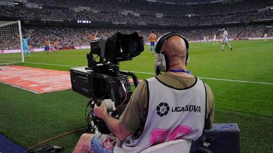 La Liga camera. Goal