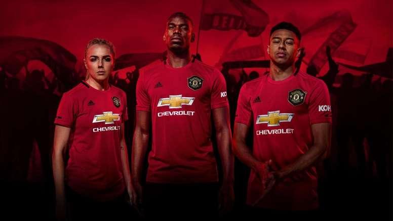 Le nouveau maillot de United. Goal