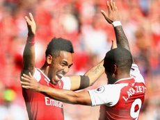 Lacazette and Aubameyang get on, despite competition for starting spots. Goal