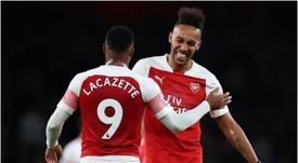 Arsenal play Tottenham this weekend. GOAL