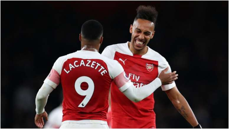 Pierre-Emerick Aubameyang and Alexandre Lacazette will be looking for a top 4 finish. GOAL