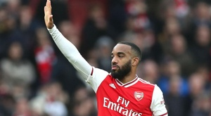 Arteta was full of praise for Lacazette after scoring off the bench for Arsenal. GOAL