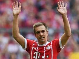 Lahm a été récompensé pour ses performances. Goal