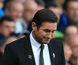 Lampard was sent to the stands as his side were defeated by Rotherham. GOAL