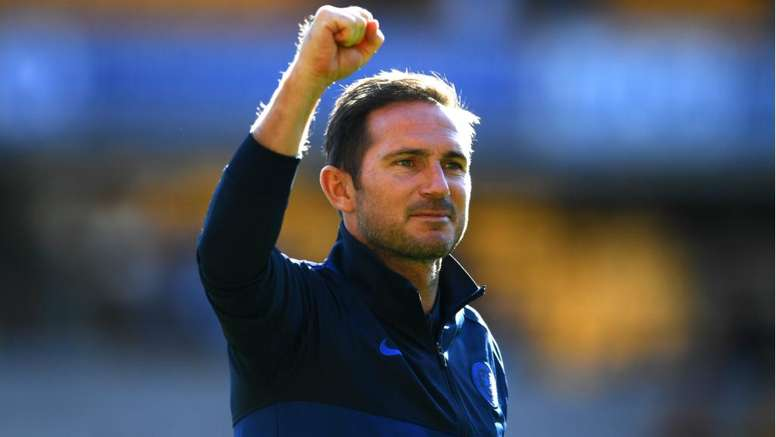 Frank Lampard is hoping the PL manager of the month curse does not affect Chelsea. GOAL