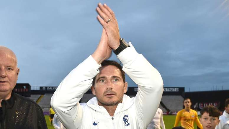Lampard got his first win as Chelsea manager on Saturday. GOAL