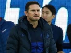 Lampard not yet considering transfer window despite Everton defeat. GOAL