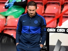 Lampard insists he never pinned Chelsea's Champions League hopes on Man City verdict. AFP