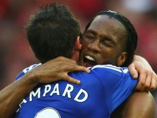 Drogba and Lampard basked in success at Chelsea. GOAL