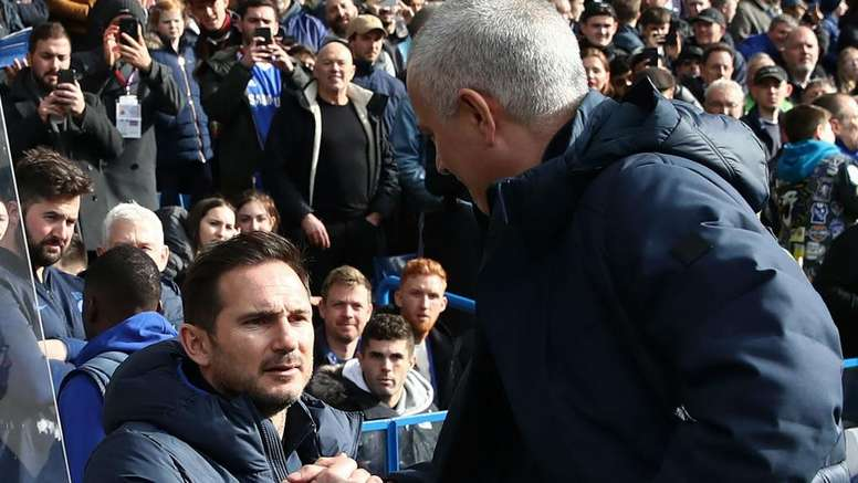 Did someone reveal Chelsea's formation to Mourinho? GOAL