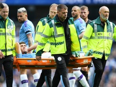 Guardiola says Laporte could be out for a while. GOAL