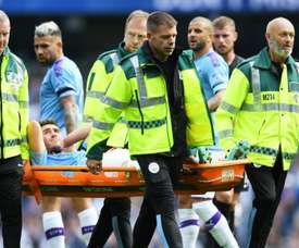 Aymeric Laporte will be on the sidelines for up to six months. GOAL