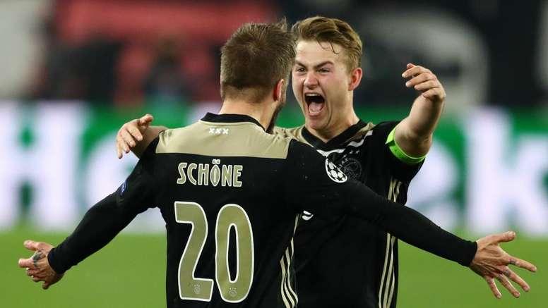 De Ligt: Ajax aren't satisfied