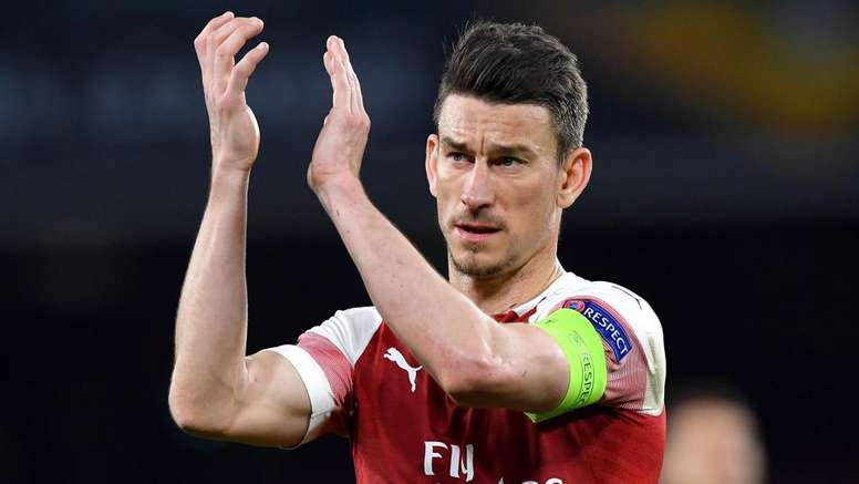 Koscielny n'était plus heureux à Arsenal. goal