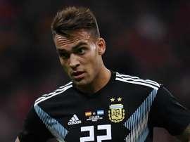 Lautaro Martinez Argentina 2018. Goal