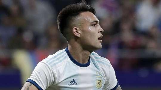 L'attaccante argentino dell'Inter Lautaro. Goal
