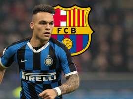 """Lautaro não está à venda e """"Barcelona sabe"""", diz Inter de Milão"""