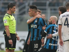 Martinez reaction was 'excessive', Inter assistant Stellini accepts. GOAL