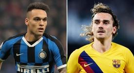 Inter quer Griezmann caso Lautaro vá para o Barça. GOAL