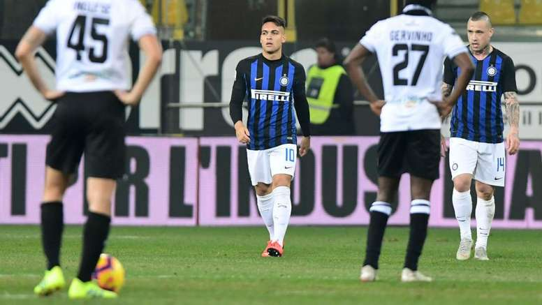 Lautaro decide la sfida a Parma. Goal