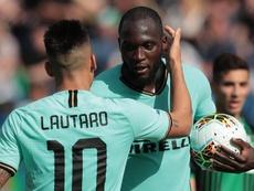 Serie A - L'Inter se fait peur à Sassuolo (4-3). AFP