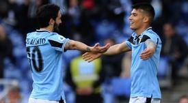 La Lazio vola al primo posto. Goal