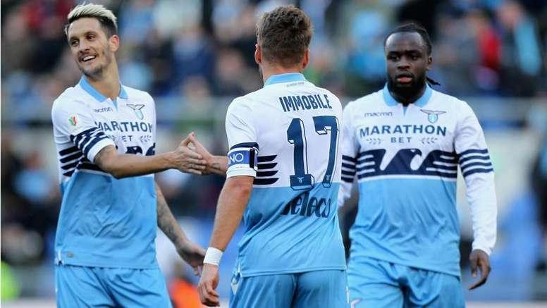 La Lazio vola. Goal