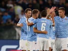 Immobile-Marusic: la Lazio torna al successo