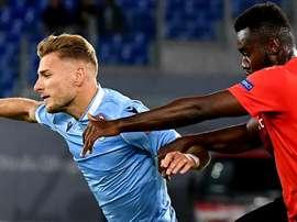 Rennes-Lazio, Immobile e Caicedo guidano l'Aquila a caccia dell'impresa