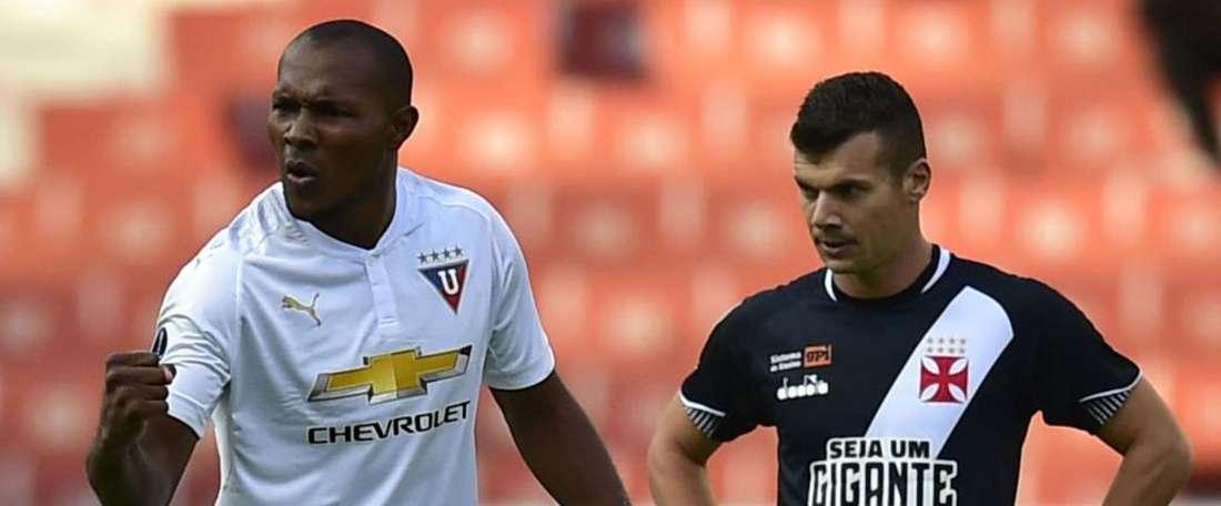 LDU 3x1 Vasco: equatorianos conseguem boa vantagem na Sul-Americana