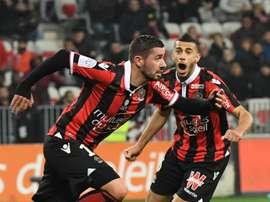 Mickaël Le Bihan file à Auxerre. Goal