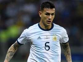 L'Argentine a écrasé le Mexique avec un Leandro Paredes en grande forme. AFP