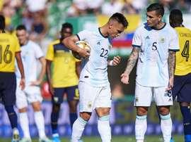 Scintille fra Lautaro e Paredes nella vittoria per 6-1 sull'Ecuador. Goal
