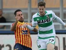 Termina in pareggio tra Lecce e Sassuolo. Goal