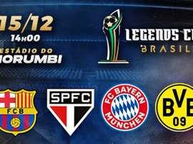 Legends Cup 2019: saiba tudo sobre o torneio no Morumbi. Goal
