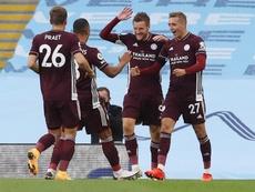 Manchester City - Leicester City (2-5), City s'effondre face à Leicester. goal